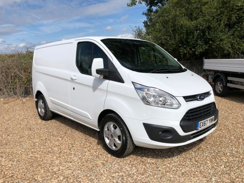 Used FORD TRANSIT CUSTOM in Hampshire for sale