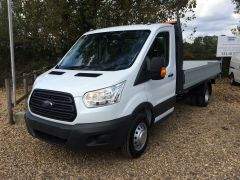 FORD TRANSIT L4 350 2.0L 130ps (EU6) 14FT DROPSIDE RWD - 2609 - 2