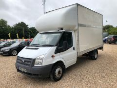 FORD TRANSIT 350 DRW LUTON EXTENDED FRAME 125PS TAIL LIFT - 2599 - 3