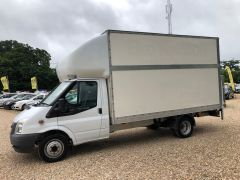 FORD TRANSIT 350 DRW LUTON EXTENDED FRAME 125PS TAIL LIFT - 2599 - 4
