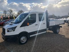 FORD TRANSIT 350 L3H1 Double Cab 1-Way Tipper RWD 4dr (EU6) - 130PS - ALLOY BODY  - 2603 - 8