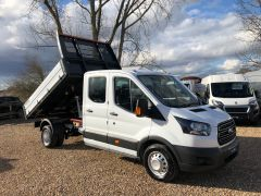 FORD TRANSIT 350 L3H1 Double Cab 1-Way Tipper RWD 4dr (EU6) - 130PS - ALLOY BODY  - 2603 - 1