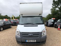 FORD TRANSIT 350 DRW LUTON EXTENDED FRAME 125PS TAIL LIFT - 2599 - 2