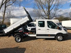 FORD TRANSIT 350 L3H1 Double Cab 1-Way Tipper RWD 4dr (EU6) - 130PS - ALLOY BODY  - 2603 - 4