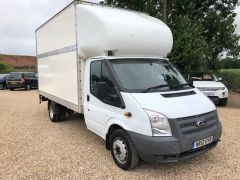 FORD TRANSIT 350 DRW LUTON EXTENDED FRAME 125PS TAIL LIFT - 2599 - 1
