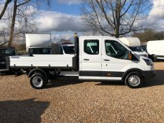 FORD TRANSIT 350 L3H1 Double Cab 1-Way Tipper RWD 4dr (EU6) - 130PS - ALLOY BODY  - 2603 - 3