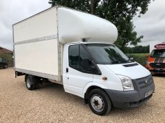 FORD TRANSIT 350 DRW LUTON EXTENDED FRAME 125PS TAIL LIFT - 2599 - 9