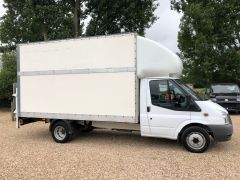 FORD TRANSIT 350 DRW LUTON EXTENDED FRAME 125PS TAIL LIFT - 2599 - 8