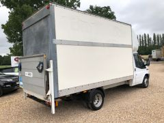 FORD TRANSIT 350 DRW LUTON EXTENDED FRAME 125PS TAIL LIFT - 2599 - 7